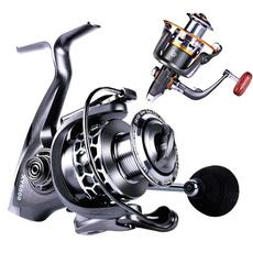 spinningreel, Aluminum, fishingrod, lights