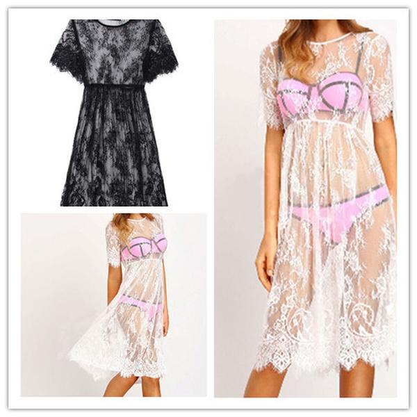 Summer, Comfort, Lace, Lace Dress