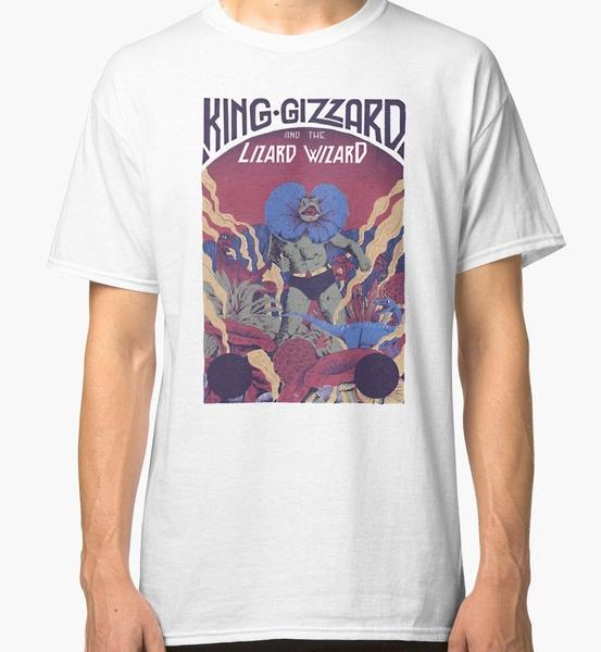 Funny, Wizard, roundnecktshirt, King