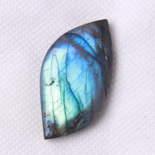 Crystal, multicolor, quartz, labradorite
