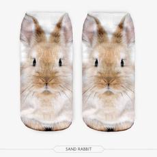 cute, Funny, animalprintsock, Slippers