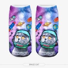 cute, Print, Funny, Socks