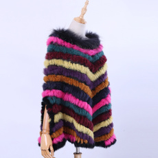 Triangles, scarf, Fashion, fur