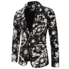 flowersuit, Flowers, Blazer, Sleeve