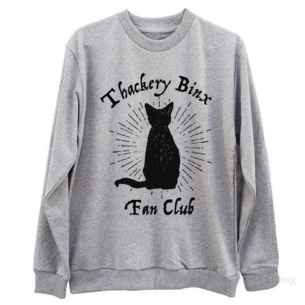 Disney Hocus Pocus Thakery Binx Halloween Sweatshirt