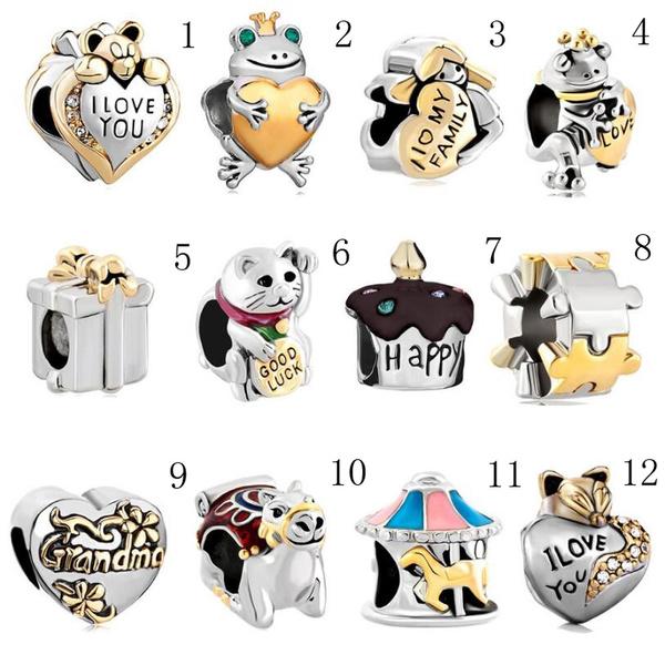 diycharmjewelry, Sterling, Fashion, diybracelet