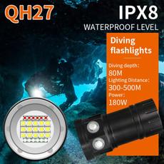underwater200m, divingaccessorie, campingflashlight, rechargeableflashlight