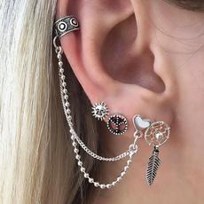 Hoop Earring, Jewelry, Chain, Stud Earring