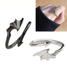 adjustablering, devils, 925 silver rings, beautifulringforwomen