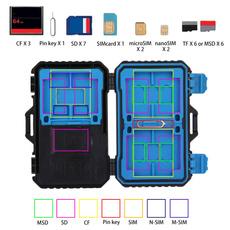 Box, memorycardcassette, Pins, cameracardcase