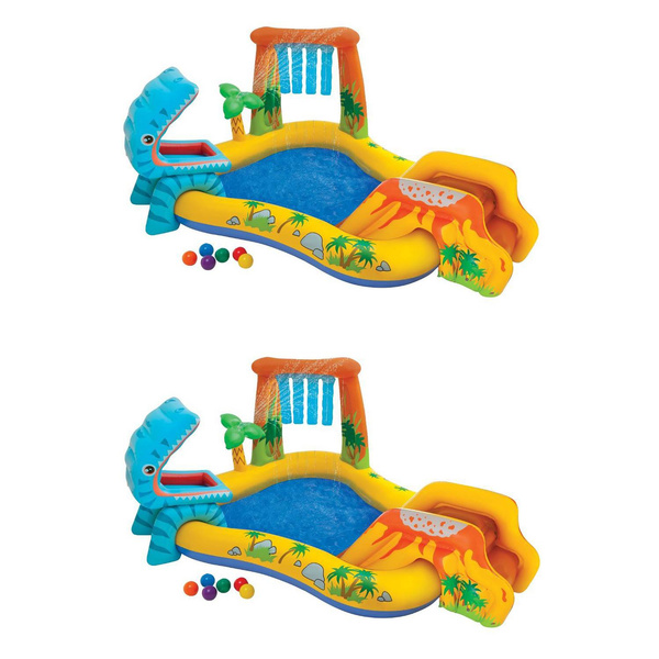 Dinosaur, outdoorbackyardkidschildrensummertheme, Inflatable, kids