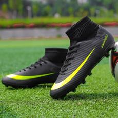 Sneakers, Outdoor, hightopfootballshoe, soccer shoes