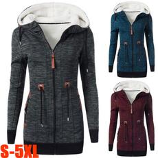 warm coat, Plus Size, hooded, Winter