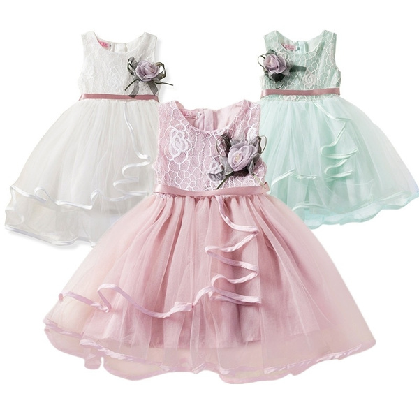 gowns, kids clothes, Lace, babyweedingdre