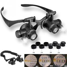 ledmagnifier, led, 10xloupe, watchrepairglasse