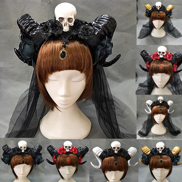 hornsheadpiece, hornheadbandblack, Goth, devils