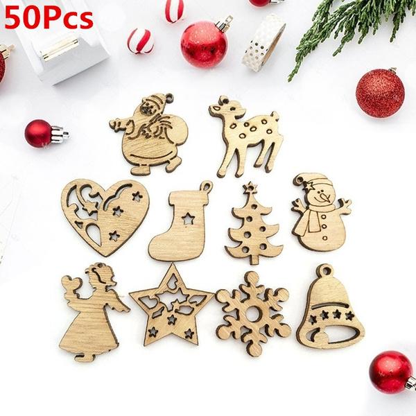 Home Decor, christmaspendant, Wooden, Ornament