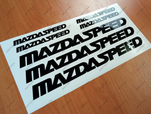 mazdaspeed, Stickers, Rx, mazda