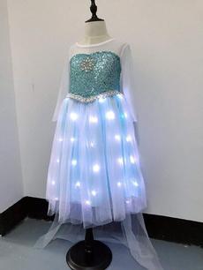 light up, party, Cosplay, girlsdressblue
