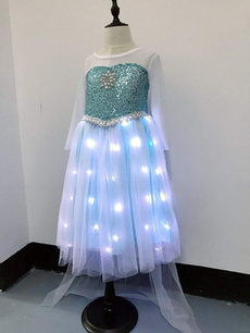 light up, party, Cosplay, girlsdressblue