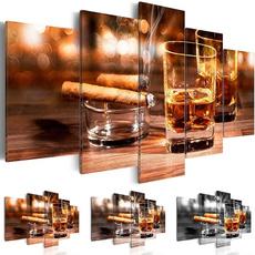 Decor, Wall Art, canvaspainting, whiskey