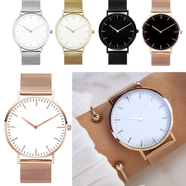 Steel, Vintage, Fashion, Ladies Watches