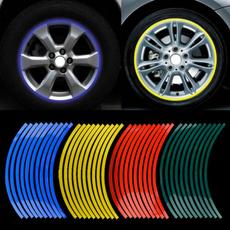 motorcycledecor, Decor, stripesbicyclesticker, carstyling