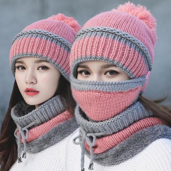 woolen, Women, Fashion, winter cap