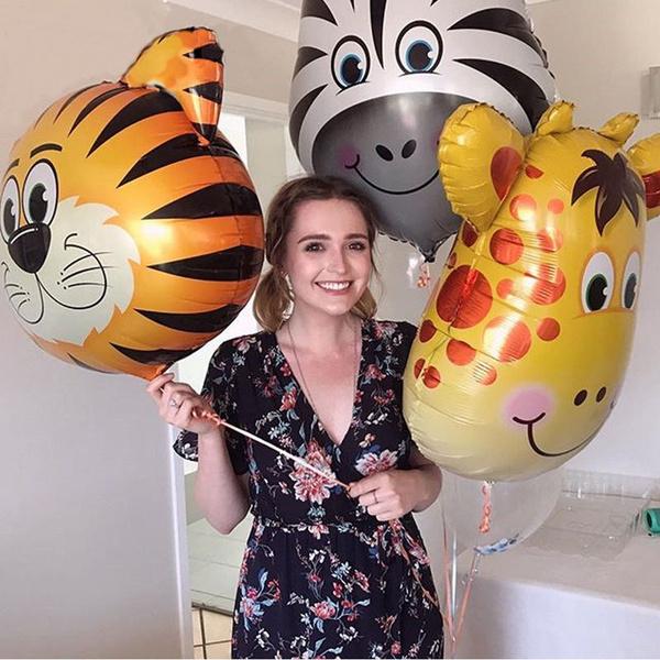 foilballon, Shower, heliumballon, Baby