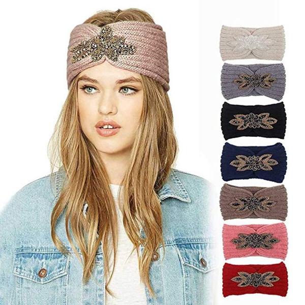 woolen, Head, Flowers, headwear
