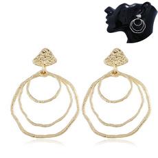 exaggeratedearring, Hoop Earring, Dangle Earring, Jewelry