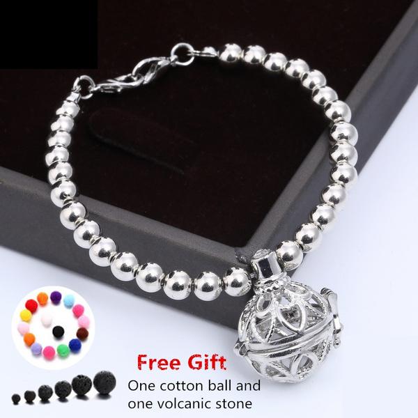 Heart, locketbracelet, Jewelry, pearls