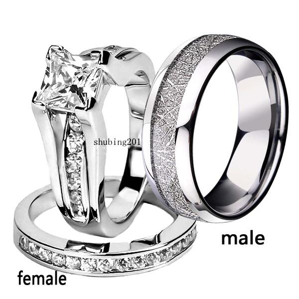 Couple Rings, Steel, wedding ring, promise rings