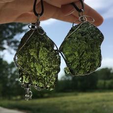 crystal pendant, Jewelry, Czech, crystaldecor