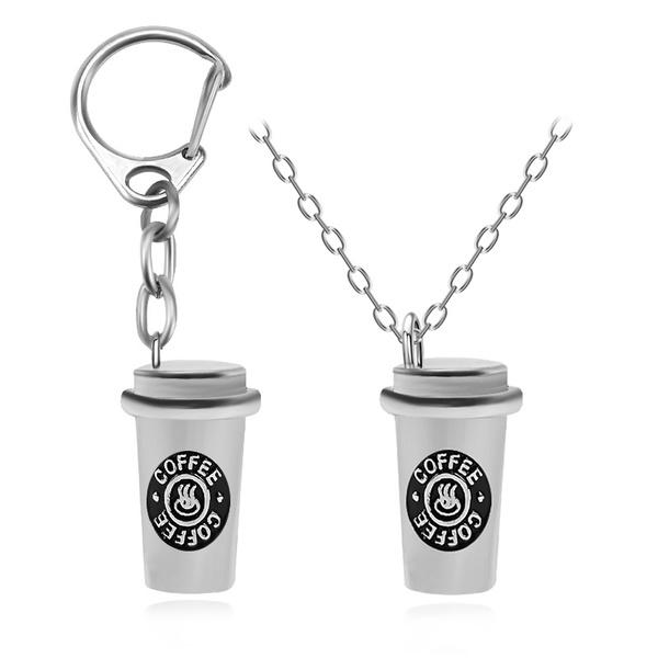 Necklace, Coffee, Fashion, Jewelry