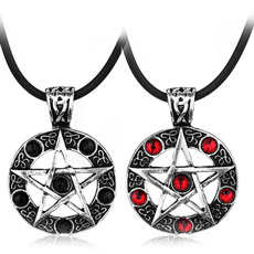wiccan, Star, Jewelry, Gifts