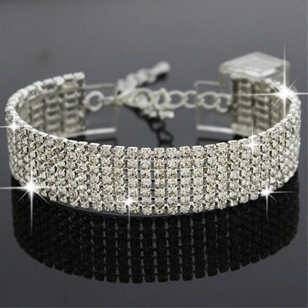 Fashion, Jewelry, Bracelet, Rhinestone