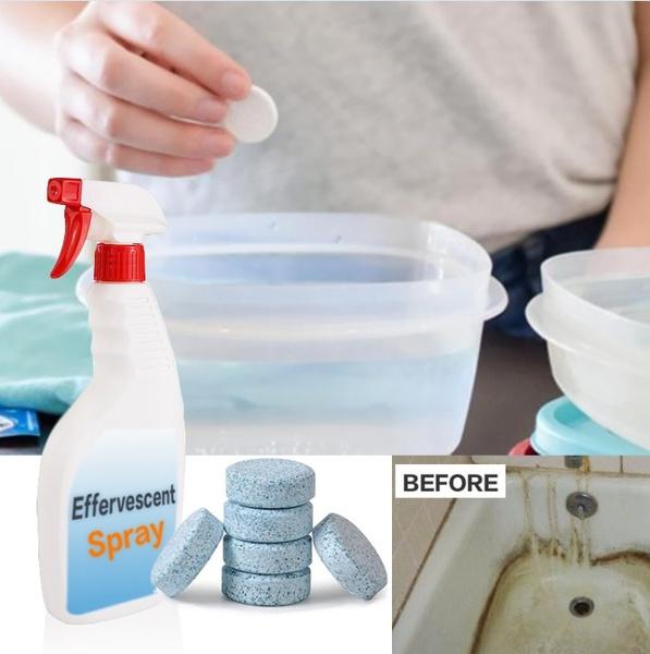 toiletclean, toiletfloorstain, multifunctionaleffervescentspray, Wood