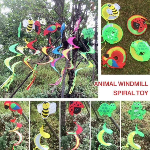 Decor, Flowers, childrenwindmill, Colorful