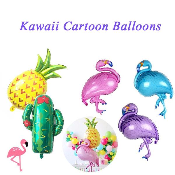 decoration, watermelonballon, cactusballoon, Hawaiian