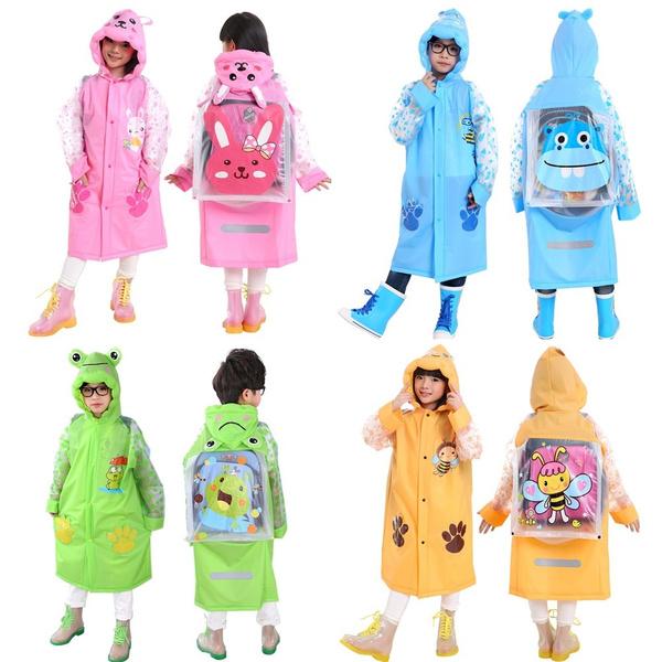 cute, Outdoor, boysgirlsraincoat, Jacket