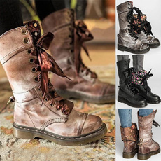 Shoes, platformboot, Fashion, Leather Boots