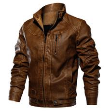 Fashion, men clothing, zipperjacket, men leather jackets