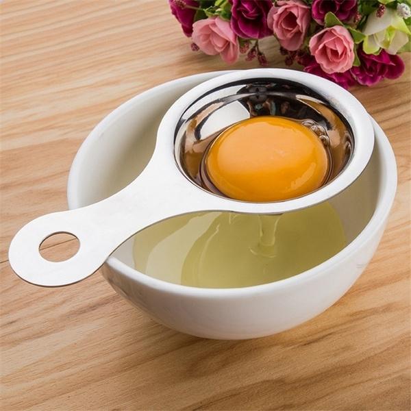Steel, eggyolkseparator, Kitchen & Dining, Baking