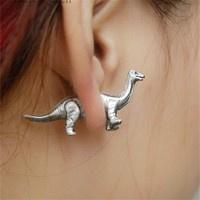 Dinosaur, Fashion, unisexearring, Gifts