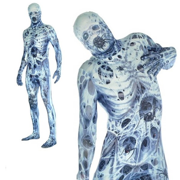 arachnomaniamorphsuit, Cosplay, Skeleton, scary