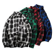 Plus Size, checkered, solarsystem, Shirt