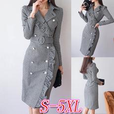office dress, Sleeve, Long Sleeve, plus size dress