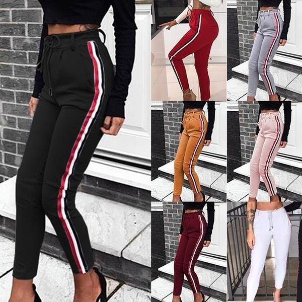 joggingpant, elastic waist, sport pants, skinny pants