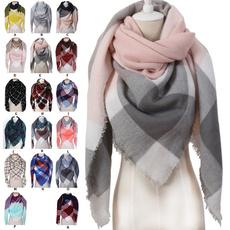 scarfsandwrap, Scarves, plaid, Triangles